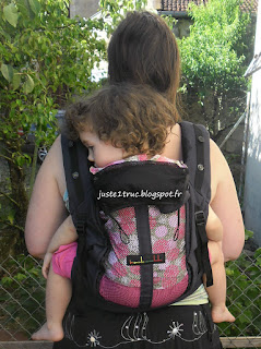 physiocarrier JPMBB Love Radius portage porte-bébé préformé babycarrier full buckle bambin maille filet