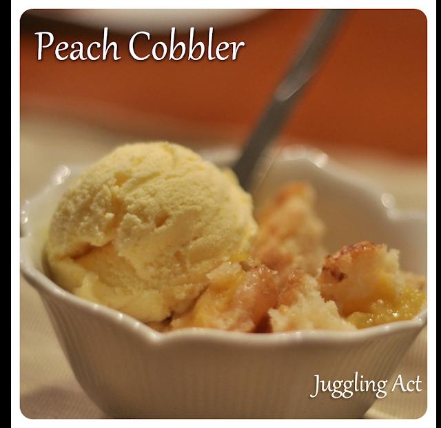 Peach Cobbler - Juggling Act Mama