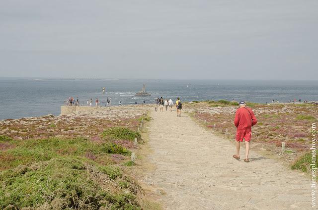 Punta de Raz Pointe du Raz viaje Bretaña Francia naturaleza cabo Finisterre