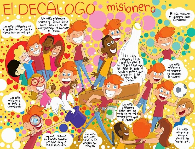 Dibujos De Las Misiones: Quiéres Ser Un Niño Misionero