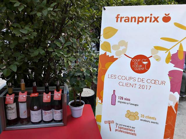 Vins Foire aux vins Franprix vins biologiques coups de cœur client FAV