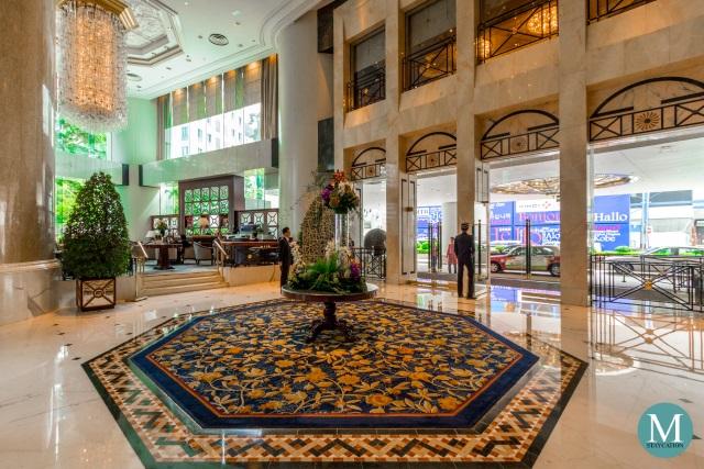 Lobby of Island Shangri-La Hong Kong