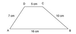 contoh soal menghitung keliling trapesium sembarang
