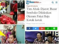 Netizen 'Tampar' Tim Ahok yang Ngeles Soal Bagi Sembako Dengan Bukti Bertebaran