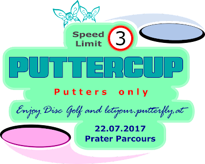 Putterfly Disc Golf Puttercup