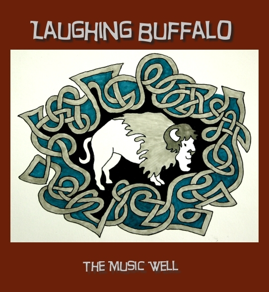 Laughing Buffalo Logo designed by Minaz Jantz
