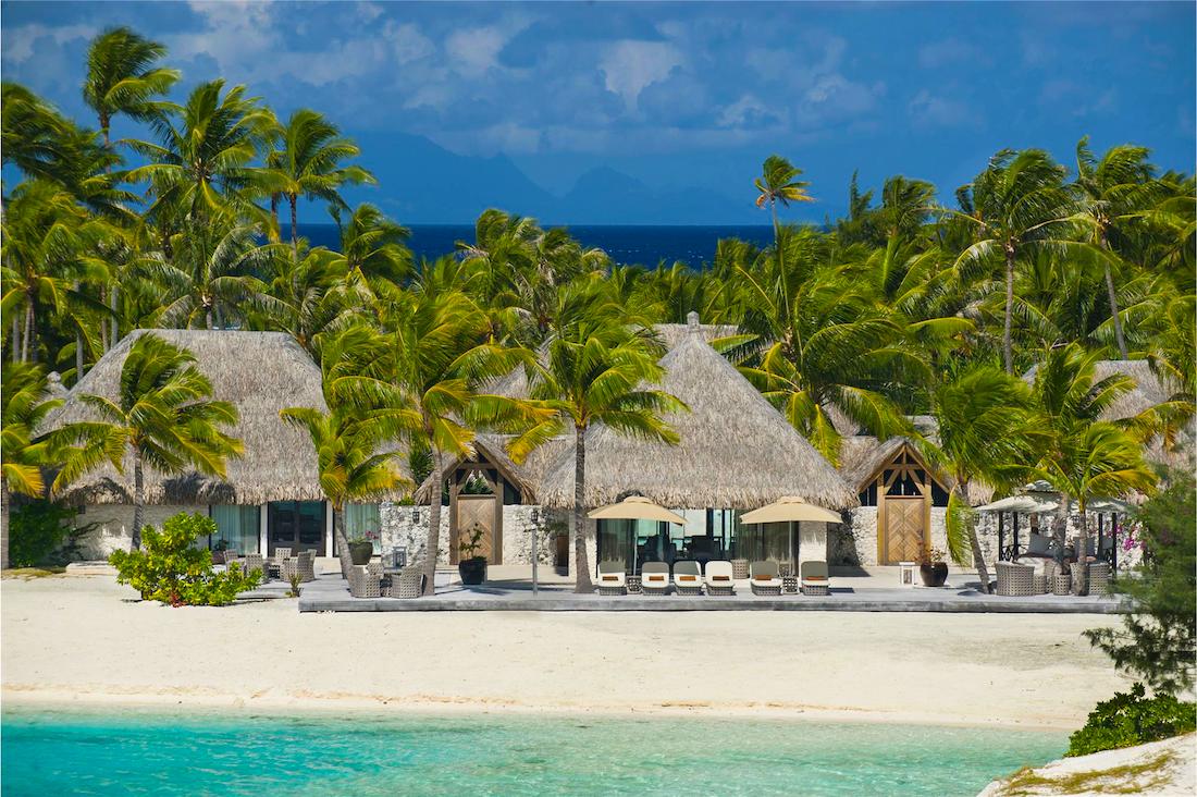 St. Regis Bora Bora Beach