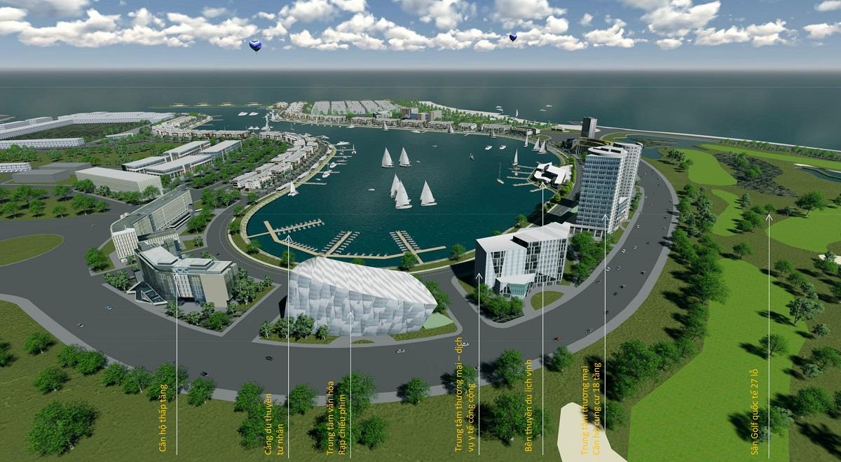 Quần thể dự án Tuần Châu Marina Hạ Long