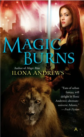 https://www.goodreads.com/book/show/1811543.Magic_Burns