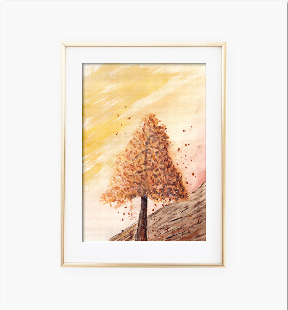 Autumn Tree Landscape