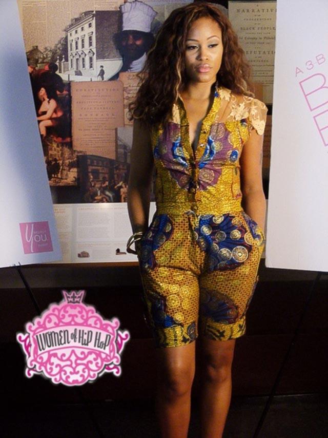Kakki Celebrity African Print Styles