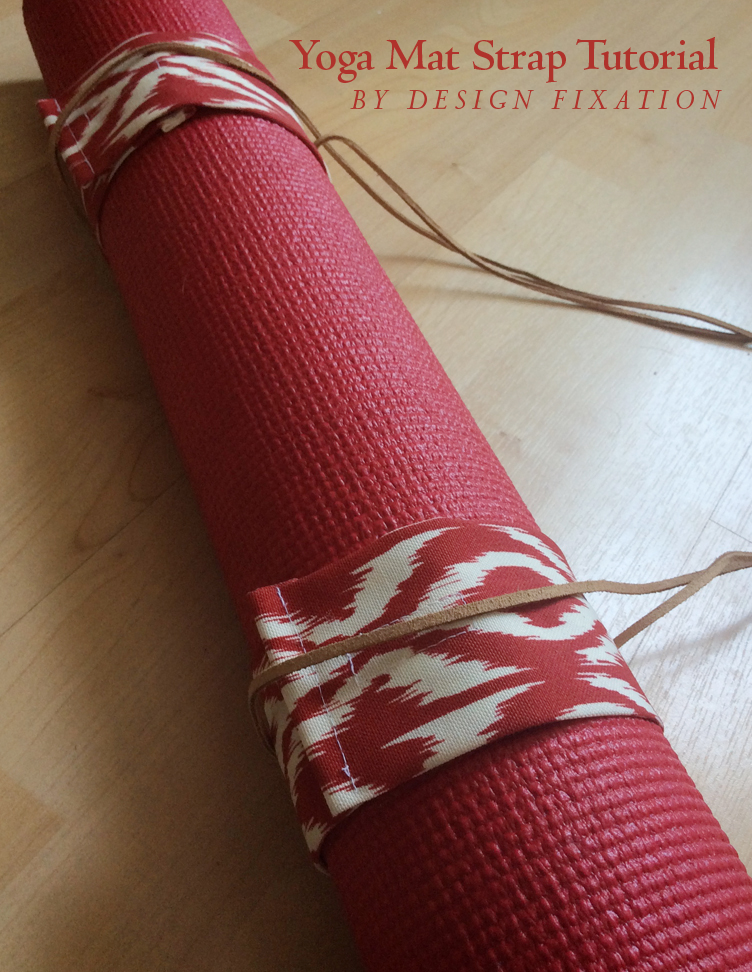 Sewing Tutiorial: DIY Yoga Mat Carrying Straps