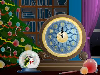 Christmas Clock Countdown Timer
