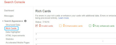 Rich Cards Screenshot