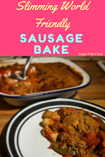 Slimming world sausage bake recipe