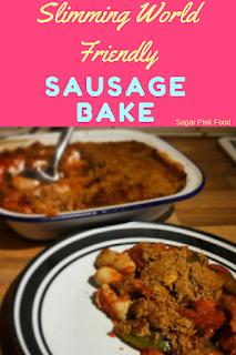 Slimming world sausage bake recipe