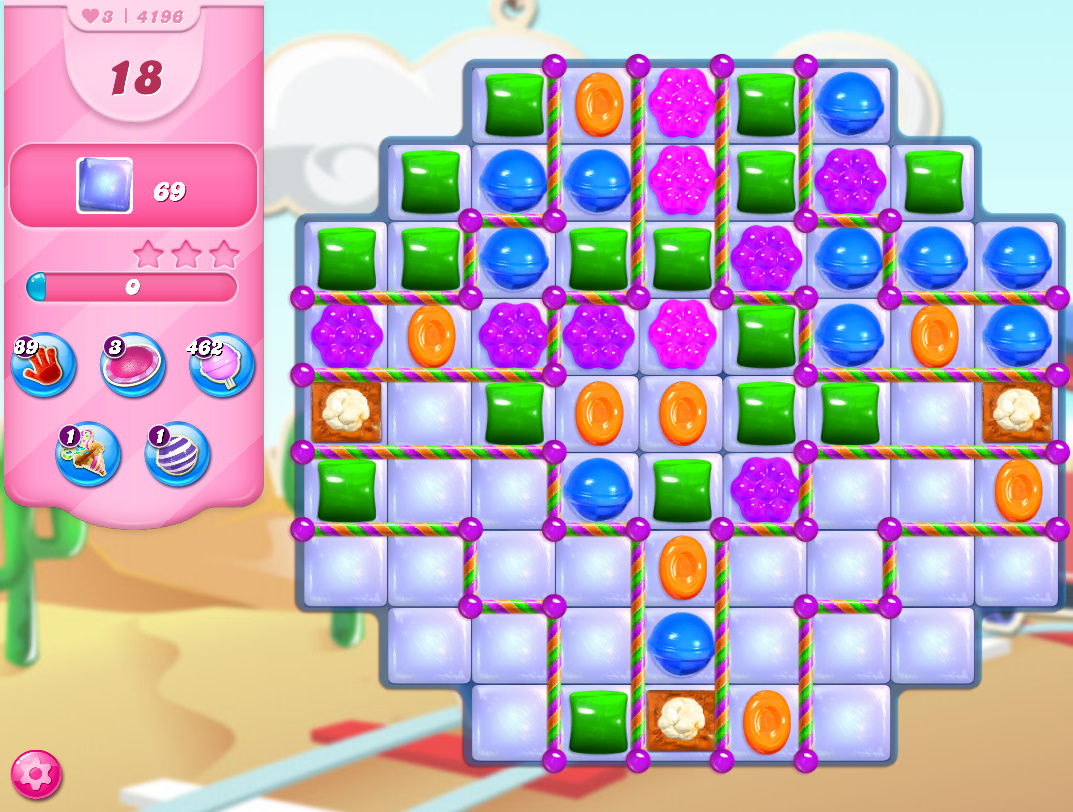 Candy Crush Saga level 4196