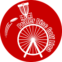 Prater Disc Golf Liga Sticker