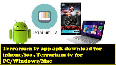 Terrarium tv app apk