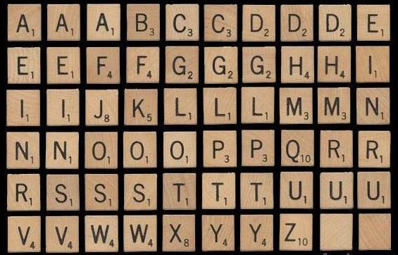 Large Scrabble Letters Printable Pictures To Pin On