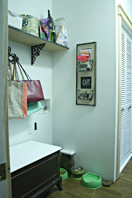 Making a laundry into a mudroom