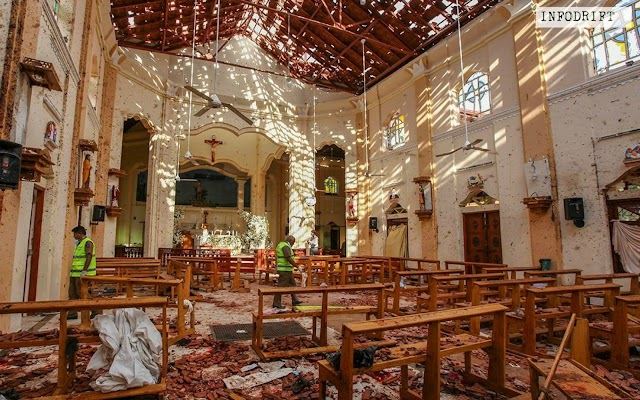 Sri Lanka Blasts: India's neighbour shook with eight serial bomb blasts killing 290 innocent people... world showers sympathy