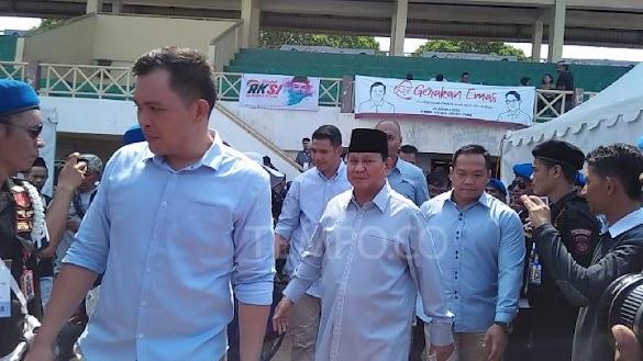 Ditanya Survei, Prabowo: Denny JA itu Apa? Tuhan Bidang Polling?