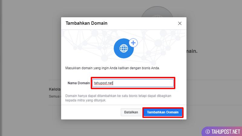 Tambahkan Domain