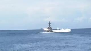 Koarmabar TNI AL Lakukan Uji Coba Penembakan Rudal C-705