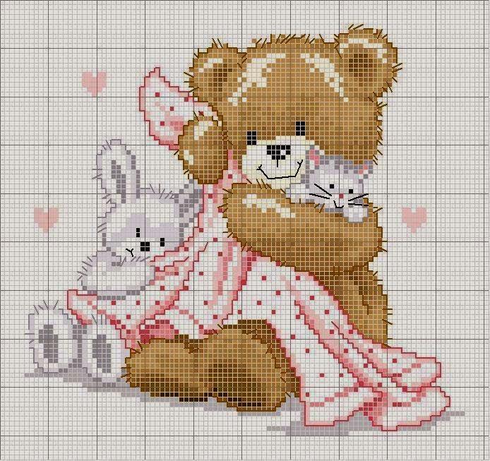 abbastanza Hobby lavori femminili - ricamo - uncinetto - maglia: Schemi  GR79