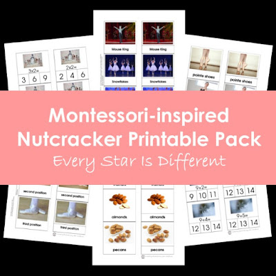 Montessori-inspired Nutcracker Printable Pack