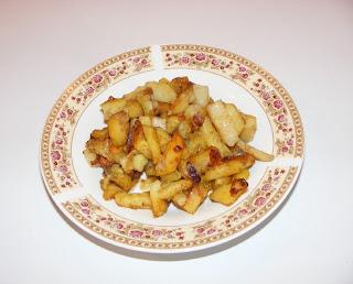 Cartofi prajiti cu ceapa si usturoi retete culinare,