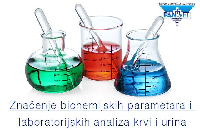 Značenje biohemijskih parametara i laboratorijskih analiza krvi i urina