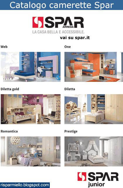 Risparmiello: Camerette Spar per ragazzi, catalogo Web, One ...