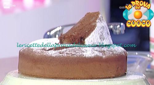 Torta di pere e cioccolato ricetta Moroni da Prova del Cuoco