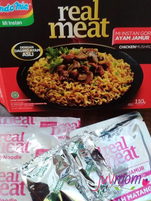 Isi Indomie Real Meat Rasa Ayam Jamur