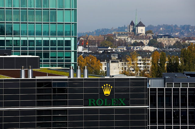 photo of Rolex World Headquarters, Geneva, Switzerland (photo: Rolex/Jean-Daniel Meyer)