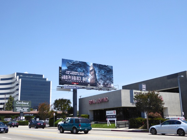 Independence Day Resurgence billboard