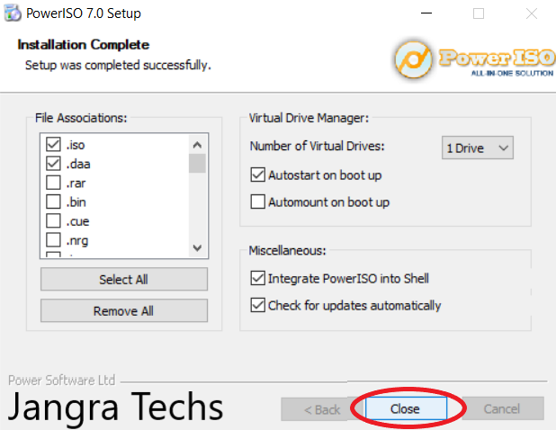 How to convert  NRG image file to  ISO image file - Jangra Techs