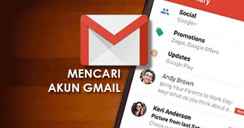 Lupa Akun Gmail Di Hp Android Begini Cara Menemukan Akun Google Cara Baru Buat Daftar Akun