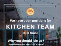 lowongan kerja kitchen team surabaya