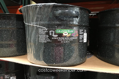 Granite Countertops Costco Price : ... own jams at home with the Granite-Ware 8-piece Water Bath Canner Set