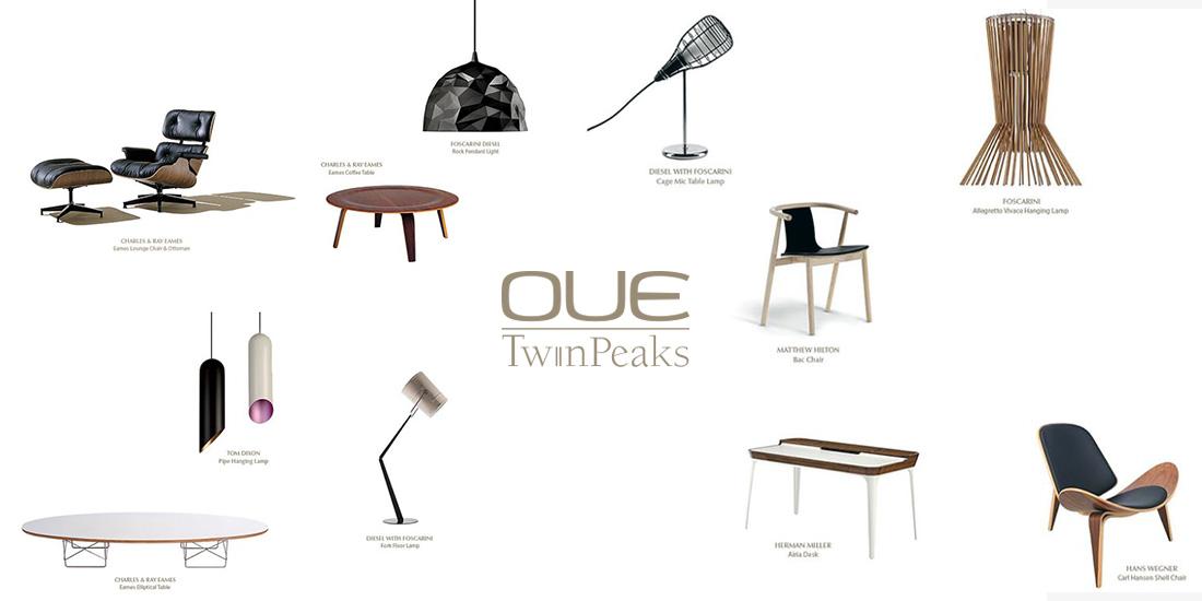 OUE Twin Peaks Furniture Design