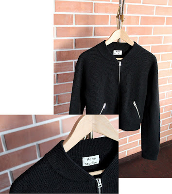 SimplyTheBest blog written and created by Ewa Sularz vintage pearls #2 acne studios, cashmere sweaters, leather winter jacket, second hand, thrift shop