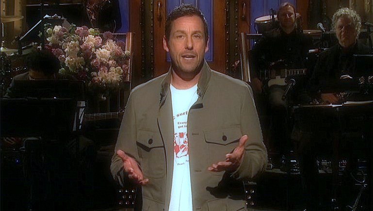 Adam Sandler returned with a song in 'SNL' how he was fired