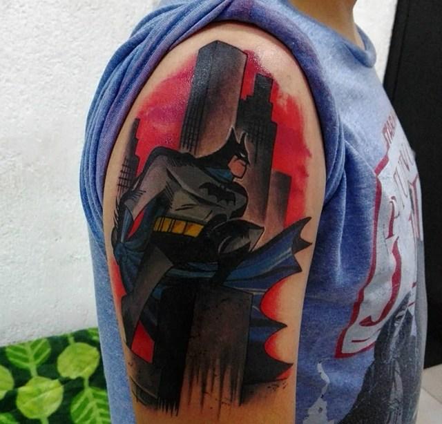 Gambar Tattoo 3D Batman Terbaru Paling Keren Dan Menakjubkan Sedunia