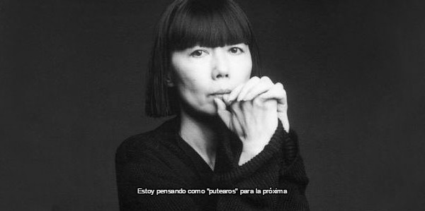 diseñadora de la marca Comme des Garçons