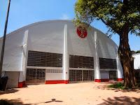 Ginásio do Centro Esportivo Tietê em São Paulo