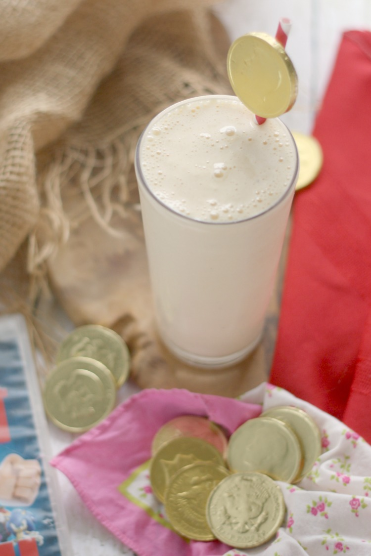 """(Sweet Mother of) Monkey Milk""shakes w/ Gold Coins 