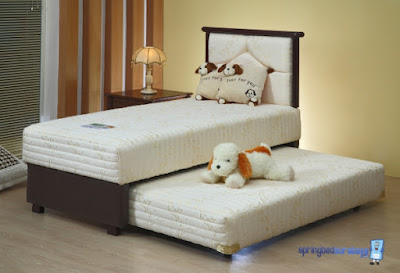 2in1 new prima guhdo springbed anak